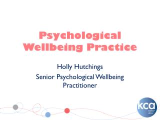 Psychological Wellbeing Practice