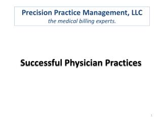 Successful  Physician  Practices