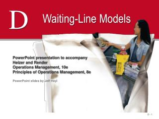 Waiting-Line Models