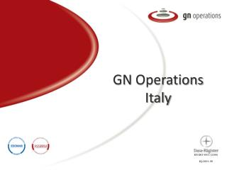 GN  Operations  Italy