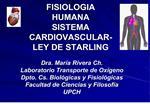 fisiologia humana sistema cardiovascular-ley de starling