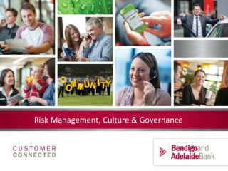 Risk Management, Culture & Governance