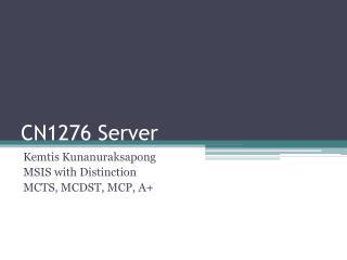 CN1276 Server