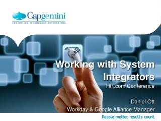 Working with System Integrators