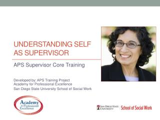 Understanding Self as supervisor