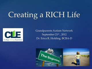 Creating a RICH Life