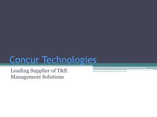 Concur Technologies