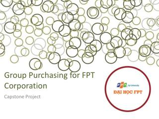 Group Purchasing  for FPT Corporation