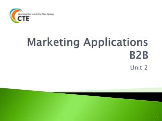 Marketing Applications B2B