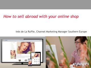 How to sell abroad with your online shop