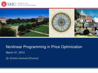 Nonlinear Programming in Price Optimization