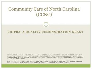 Community Care of North Carolina (CCNC)