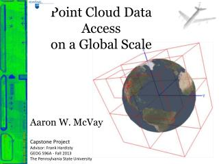 Point Cloud Data Access  on a Global Scale