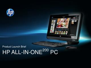 HP All-in-One 200 PC