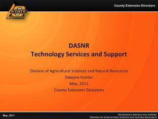 DASNR Technology Services and Support