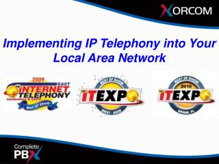 Implementing IP Telephony into Your Local Area Network