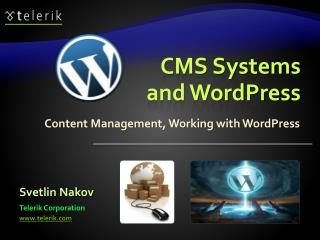 CMS Systems and WordPress