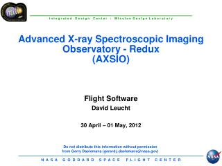 Advanced X-ray Spectroscopic Imaging Observatory -  Redux (AXSIO)