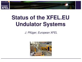 Status  of the XFEL.EU  Undulator  Systems