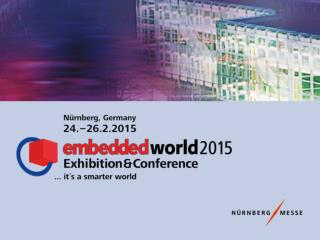 The  world's leading exhibition and conference  on  embedded systems