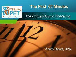 The Critical Hour in Sheltering