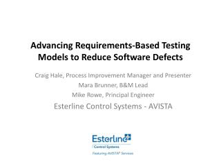 Advancing Requirements-Based Testing Models to Reduce Software Defects