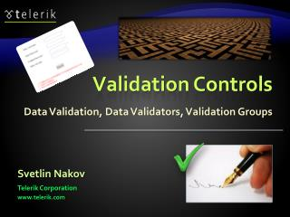 Validation Controls