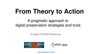 From Theory to Action