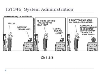 IST346: System Administration