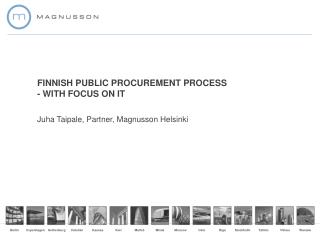FINNISH PUBLIC PROCUREMENT PROCESS - WITH FOCUS ON IT