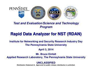 Rapid Data Analyzer for NST (RDAN)