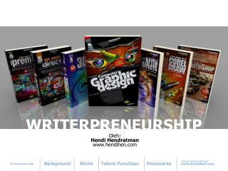 WRITERPRENEURSHIP
