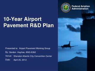 10-Year Airport Pavement R&D Plan