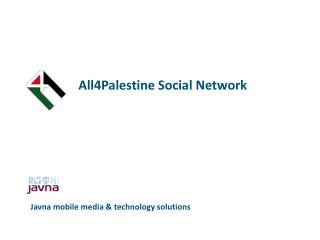 All4Palestine Social Network
