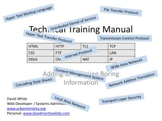 Technical Training Manual