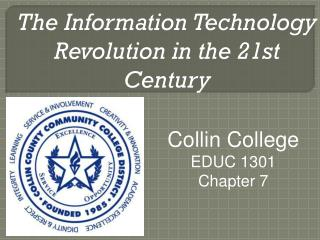 The Information Technology Revolution in the 21st Century