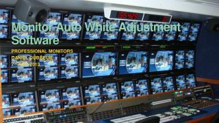 Monitor Auto White Adjustment Software