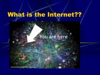 What is the Internet??