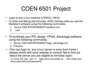 COEN 6501 Project