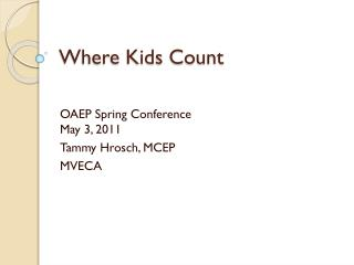 Where Kids Count