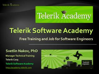Telerik Software Academy