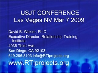 usjt conference las vegas nv mar 7 2009