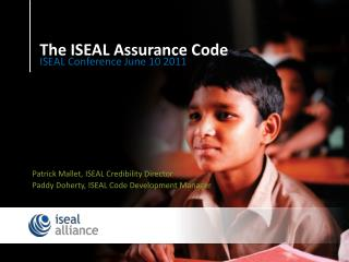 The ISEAL Assurance Code