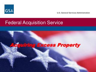 Acquiring Excess Property
