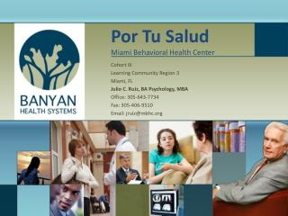 Por Tu Salud Miami Behavioral Health Center