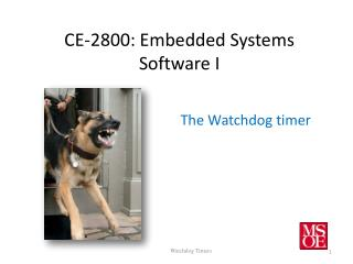 CE-2800: Embedded Systems Software I