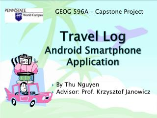Travel Log Android Smartphone Application