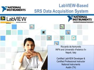 LabVIEW -Based SRS Data Acquisition System