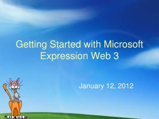 Getting Started with Microsoft Expression Web 3