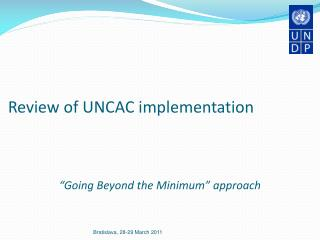 Review of UNCAC implementation